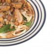 Spicy Peanut Chicken - Stock Photo
