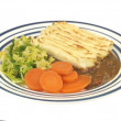 Shepherds Pie with Vegetables — Stock Photo #22267711