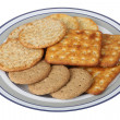 Savoury Biscuits — Stock Photo
