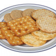 Stock Photo: Savoury Biscuits