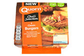 Quorn Burgers — Stock Photo