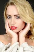 Beautiful Young Woman Portrait — Stock Photo