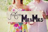 Mr&mrs — Stock Photo