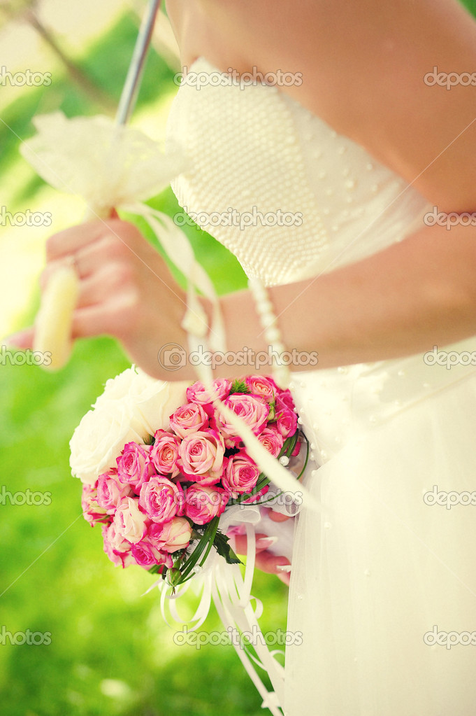 Wedding bouquet — Stock Photo #12717916