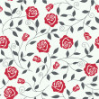 Royalty-Free Stock Vector Image: Seamless abstract background with roses