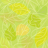 Background from leaves — Stock Vector