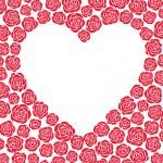 Vector heart of roses — Stock Vector #14711521