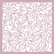 Stock Vector: Seamless floral background