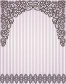 Template frame design for greeting card — Vetorial Stock
