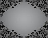 Template frame  design for card.  — Stock Vector