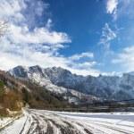 Apuan Alps snow — Stock Photo #17656321