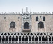 Venice Palazzo Ducale particular — Stock Photo