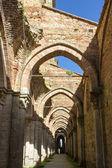аббатство сан гальгано — Стоковое фото