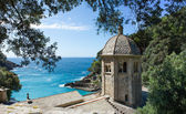 San Fruttuoso, Ligurian coast — Stock Photo