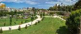 Valencia, Turia gardens — Stock Photo