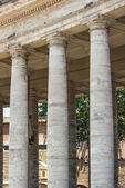 Vatican colonnade of Bernini — Stock Photo