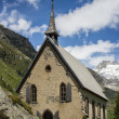 Switzerland, Alpine Church — Stock Photo