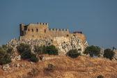 Castello di delia in sicilia — Foto Stock