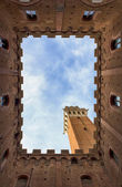 Iena, the inner courtyard of the City — Stock Photo