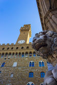 Florence, palace, old — Stock Photo
