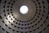 Rome, inside the Pantheon — Foto de Stock