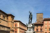 Bologna Fountain of Neptune — Stock Photo