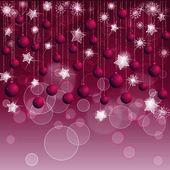 Red christmas background — Stockvektor