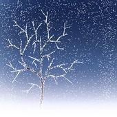 冬の木 — ストックベクタ