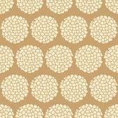 Бесшовные цветы — Cтоковый вектор
