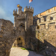 Templar Castle in Ponferrada, Leon, Sapin - Stock Photo