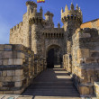 Templar Castle in Ponferrada, Leon, Sapin — Stock Photo