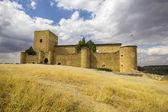 Schloß von Pedraza, Segovia, Spanien — Stockfoto