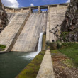 View of dam of Barrios de Luna, Leon, Spain — Stok Fotoğraf #13750244