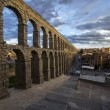 Aqueduct of Segovia, Castilla-Leon, Spain — Stock Photo