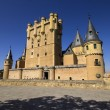 Frontal view of Alcazar of Segovia, Castilla-Leon, Spain — Stock Photo