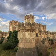 View of Castle of Coca in Segovia, Castilla-Leon, Spain — Stock Photo