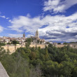 Viewpoint of Segovia, Castilla-Leon, Spain — Stock Photo