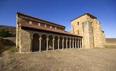 Mozarabic monastery of San Miguel de Escalada in Leon, Spain — Stok fotoğraf