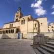 Church of San Martin in Segovia (Spain) - Stock Photo