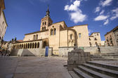 Church of San Martin in Segovia (Spain) — Stock Photo