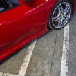 Постер, плакат: LEON SPAIN MARCH 10: A Ferrari F430 spider participating in t