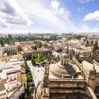 Panoramic view from the La Giralda tower of Seville Cathedral, A — Stock Photo