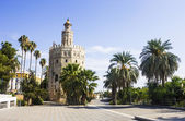 Torre del Oro (Gold Tower), medieval landmark from early 13th ce — Stock Photo