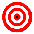 Red target symbol — Stock Photo #48644395