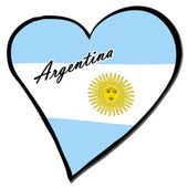 I love Argentina — Stock Photo