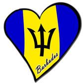 I love Barbados — Stock Photo