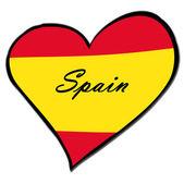 I love Spain — Stock Photo