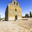Romanesque church of Santiago in Villafranca del Bierzo (Camino  — Stock Photo #48775273