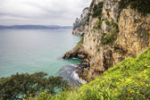 Coast of the Buciero Mountain in Santona, Cantabria, Spain — Stock Photo