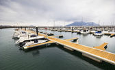 Harbor of Laredo, Cantabria, Spain  — Stock Photo